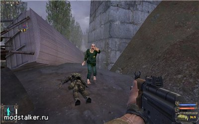 Мод Zombie-shooter для STALKER Зов Припяти