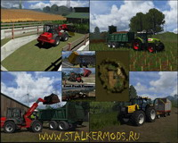 "Скачать карту ""East Peak Farms"" для игры Farming / Landwirtschafts Simulator 2011"
