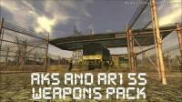 "Модификация ""AKs and AR15s Weapons Pack"" на Fallout New Vegas"