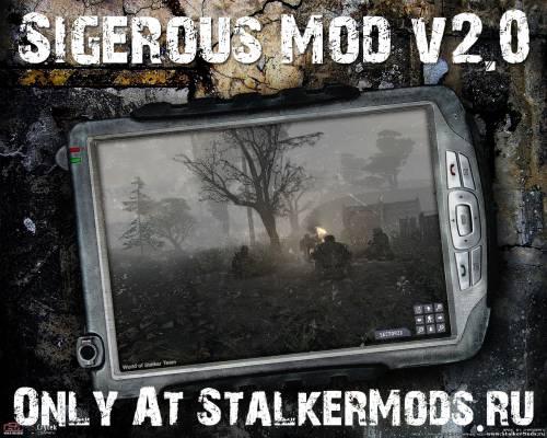 Скачать глобальный мод Sigerous Mod V2.0 для игры Сталкер Зов