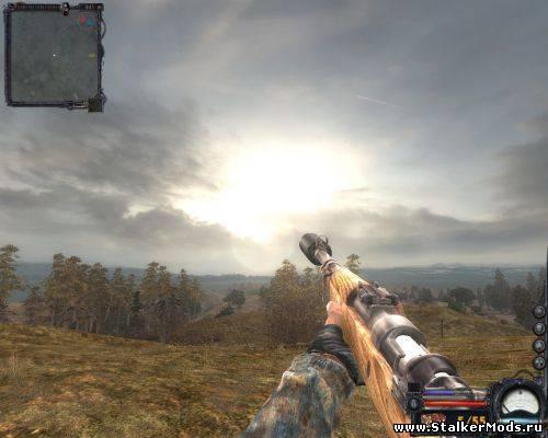 скачать оружейный мод на сталкер чистое небо - фото 2