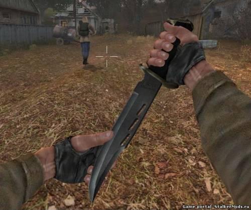 скачать мод на супер нож на сталкер тень чернобыля - фото 11