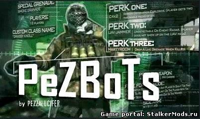 Скачать ботов PeZBoT для игры Call of Duty 4: Modern Warfare.